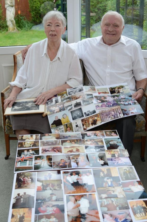 "Diamond days fly by for ""loved up"" couple"
