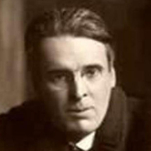 Irish poet William Butler Yeats