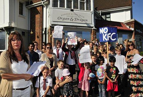 Elaine Jury has started a petition to save the Organ and Dragon in Ewell