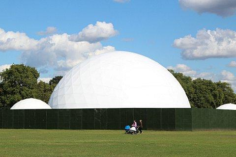 The dome on Clapham Common