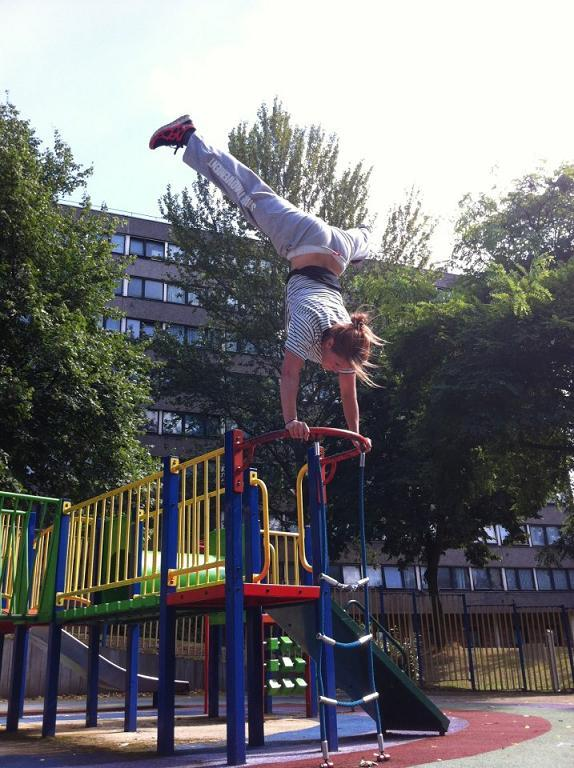 Parkour class relocates to Clapham Junction