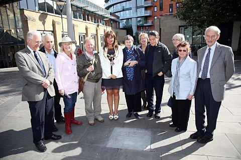 Diamond jubilee stone laid in Putney