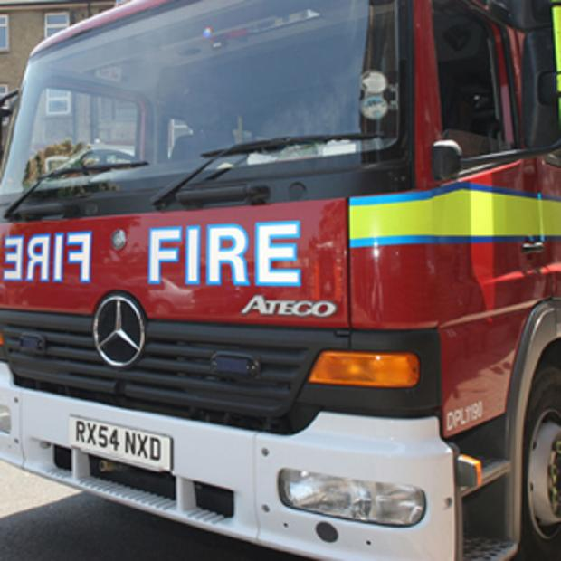 Firefighters from Tooting and Wimbledon were called to the house fire