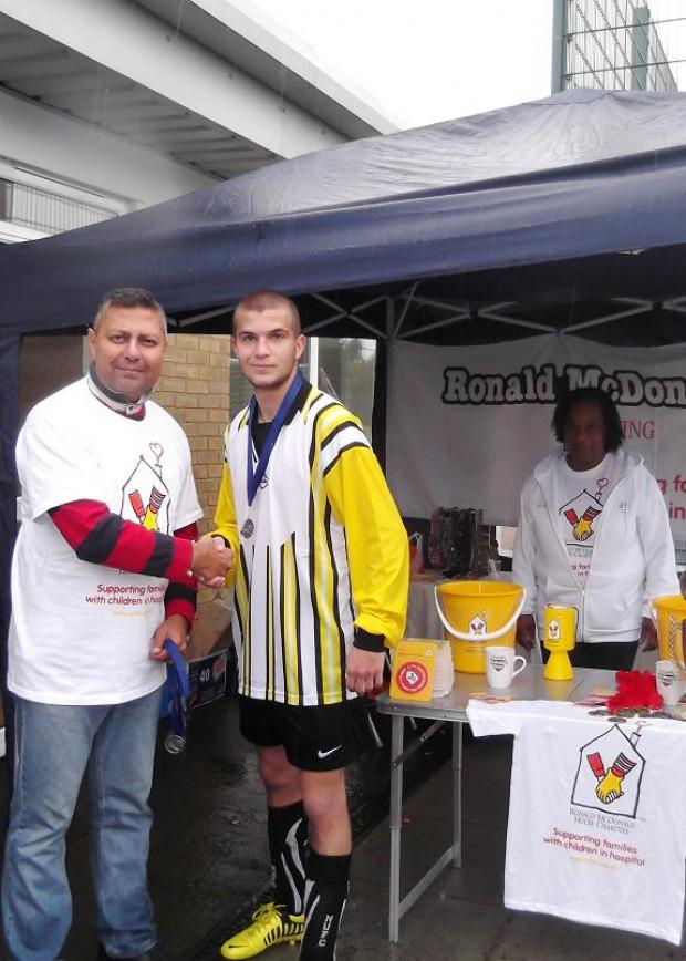 Charity football tournament raises more than £1,000