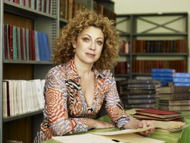 TV star Alex Kingston discovers family secrets using borough's heritage service