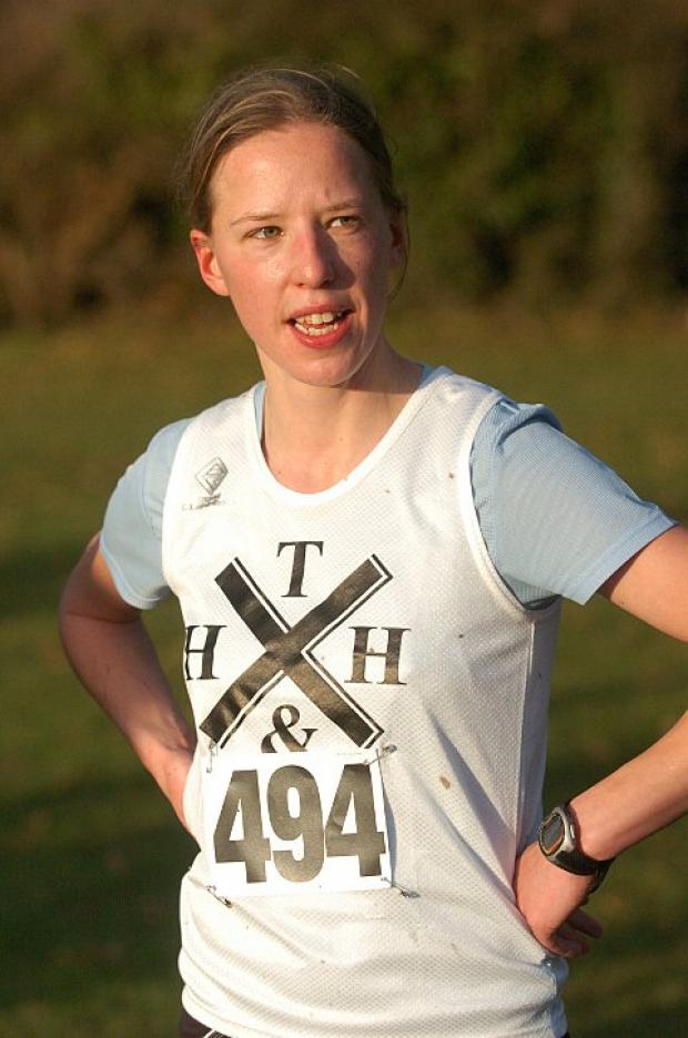The Lady: Ruth Clifton was top woman finisher in the Wimbledon Common parkrun on Saturday where she was 12th in a record 397-strong field