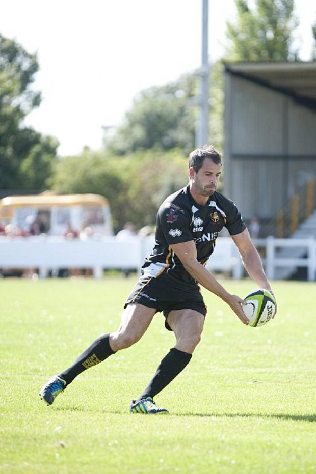 Big impression: Esher fly half Gareth Morgan is back after injury
