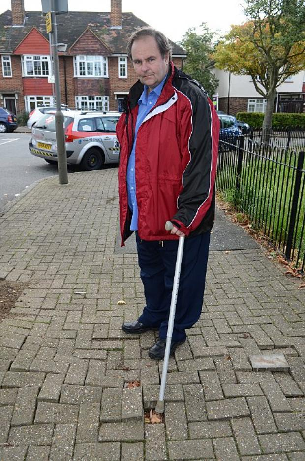Pavement campaigner Martyn Ellacot threatens council with legal action