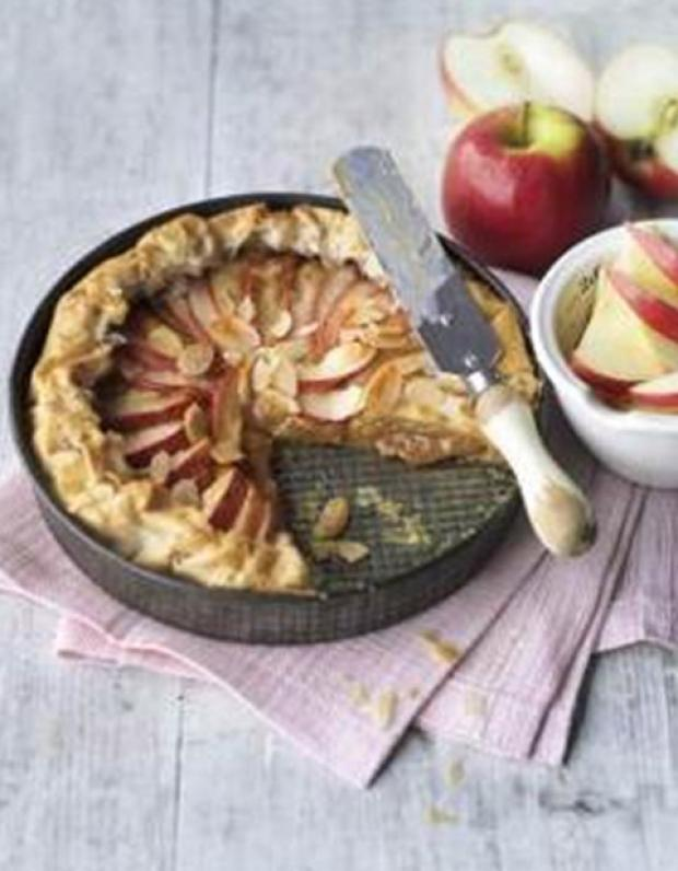 Pink Lady Apple Toffee Tart