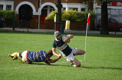 Ironsides: Enjoying scoring the tries that have taken them through to the next round of the Junior Vase    SP70798