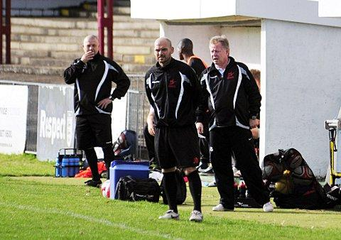 The new man at the helm: Tommy Williams has been appointed as the new Robins manager, having spent a period as caretaker      SP68722