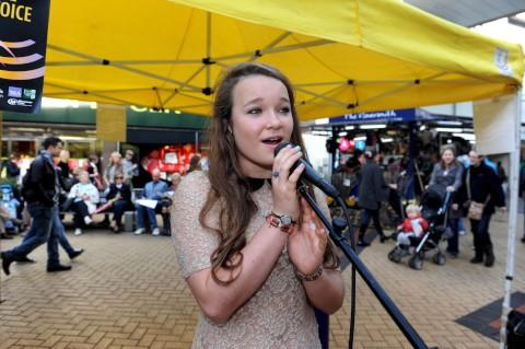 Sophie Plummer, one of the singers to take part in Kingston Spotlight