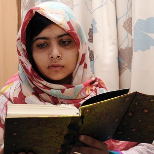 Malala Yousafzai, the 15-year-old girl who was shot in the head by a Taliban gunman in Pakistan
