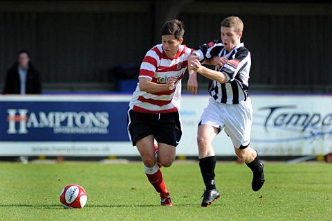 Creative force: Kingstonian midfielder Matt Pattison