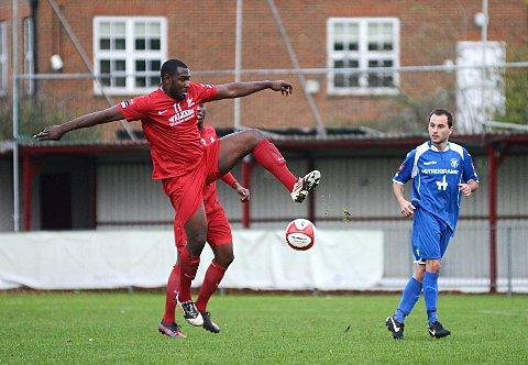 Goal but no cigar: Hakeem Adelakun's wonder goal was not enough to beat Wealdstone                                SP70816