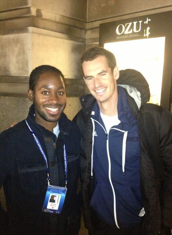 Charity fundraiser inspires Andy Murray after appearing on Surprise Surprise