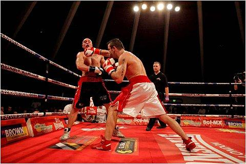 Back: Gareth Gardner is back in Queensbury Boxing League action this Saturday