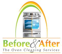 Before and After Oven Cleaning Sevices