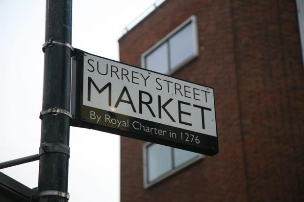 Christmas cheer comes to Surrey Street Market