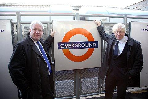 Overground suspended for almost an hour yesterday