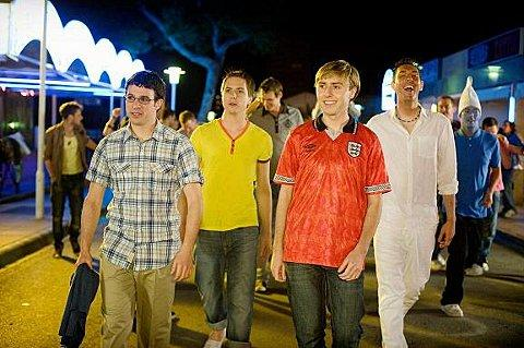 The cast from The Inbetweeners Movie