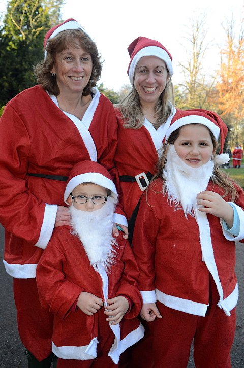 VIDEO: Santa delivers the goods for charity