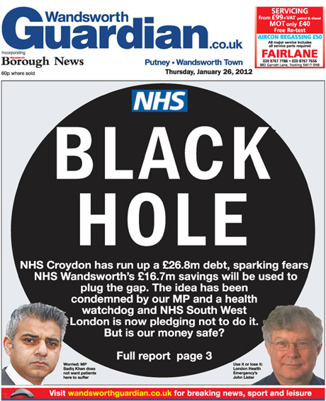 Wandsworth Guardian: Black hole ragout