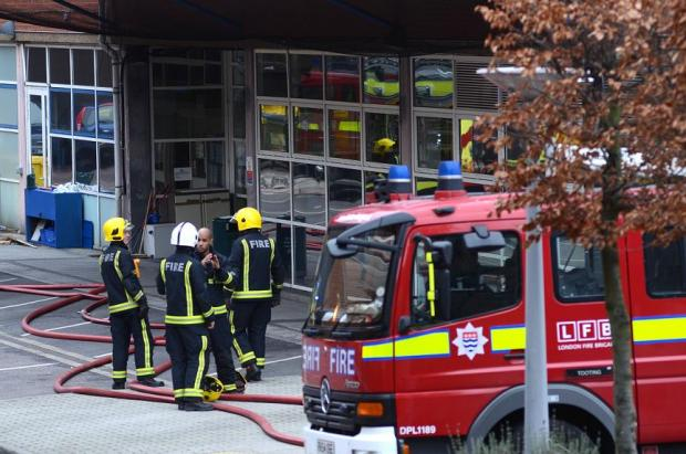 Hospital wing remains close following fire