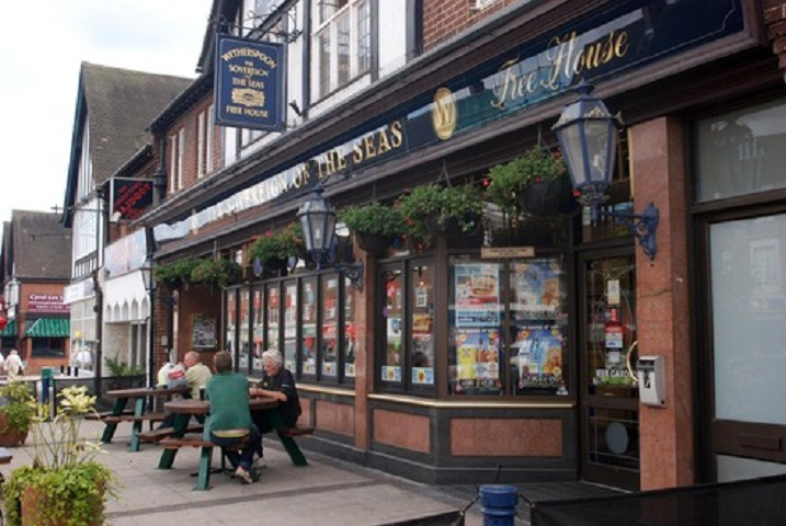 Punters at pubs such as the Sov in Petts Wood will soon get a taste of how many calories they are consuming with their beer