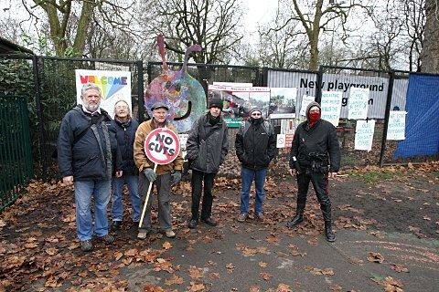 Wandsworth Council threaten protesters with legal action over Battersea Park occupation