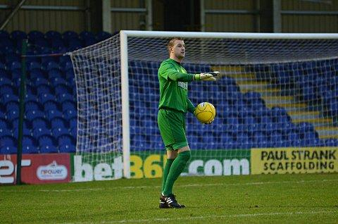 In for the long haul: Kingstonian keeper Rob Tolfrey