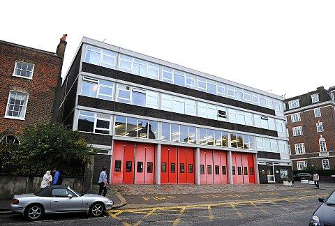 Clapham fire station, earmarked for closure