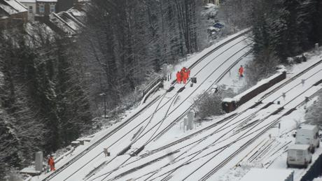 Network Rail 'failed to deal with snow and rain' over Christmas