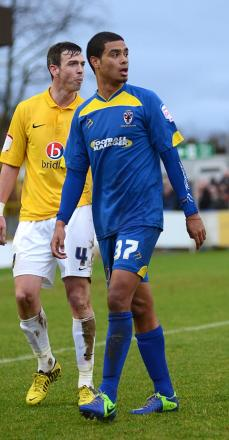 Back for the weekend: Paul McCallum could be fit for the weekend visit of Burton Albion    SP70824
