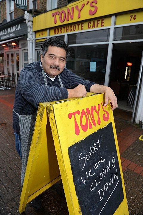 Tony Kose is closing much loved Northcote Café after 25 years