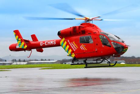 London's Air Ambulance gets a makeover