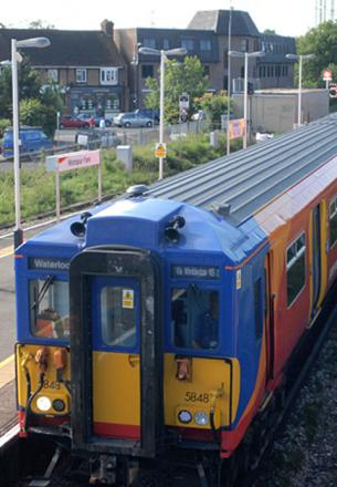 Emergency rail works causing rush hour delays