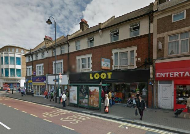 Firefighters were called to Loot in Mitcham Road, Tooting