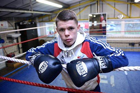 Prepared to fight: Charlie Edwards could start his quest for another ABA title on Thursday. SP74278