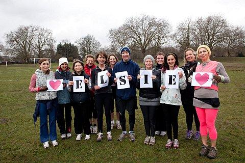 Fitness participants on Wandsworth Common