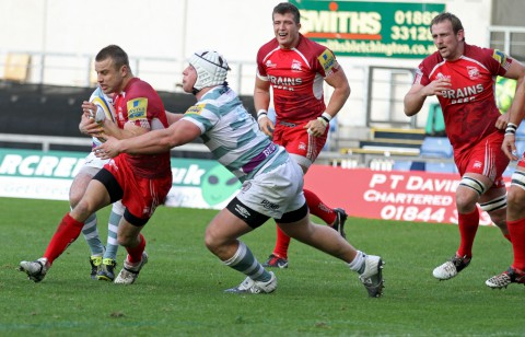 Caught in the middle: Tyson Keats played in 10 Aviva Premiership matches as an ineligible player        Picture: Martin John