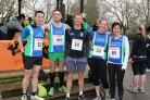 Clapham Chasers running club before the start