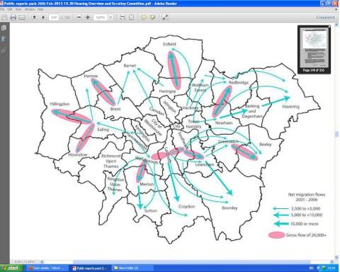"New council map shows ""forced"" Wandsworth migration"