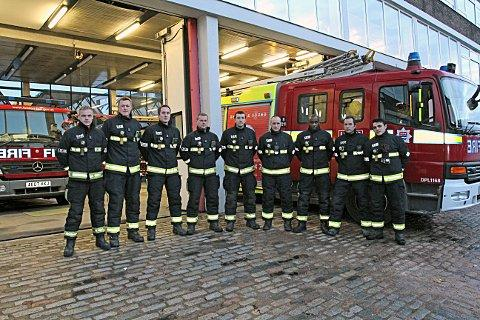 White watch at Clapham Fire Station