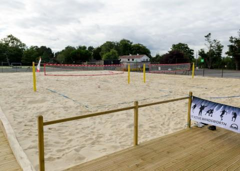 Beach volleyball tasters bring back Olympic spirit