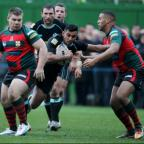 Debut in waiting: London Broncos Mike Bishay could make his Super League debut this weekend