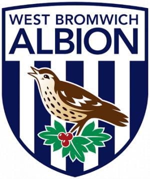 Wandsworth Times: Football Team Logo for West Bromwich Albion