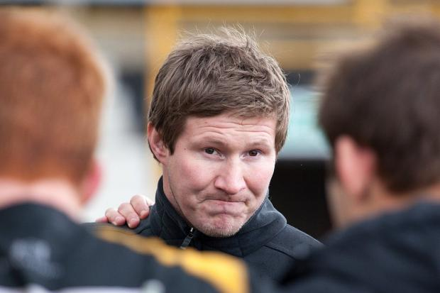 Moving on: Ollie Smith has left his post as head coach of Esher RFC