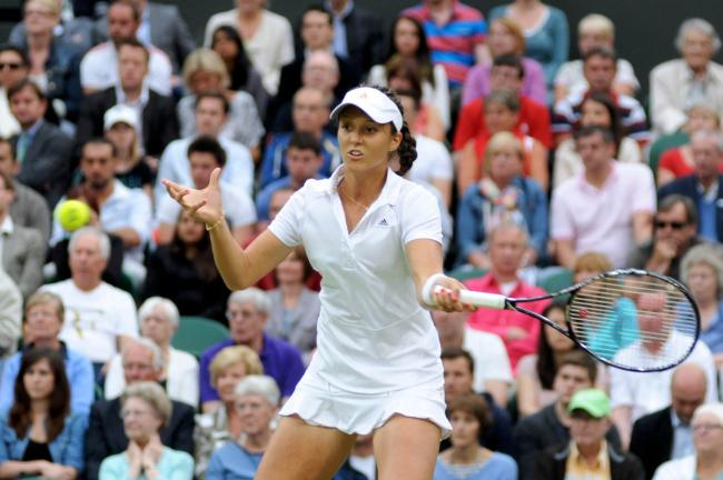 Fighter: Laura Robson came back from a set down to beat Marina Erakovic of New Zealand