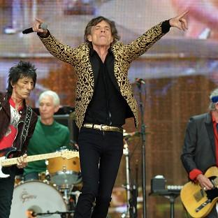 Wandsworth Times: Mick Jagger from The Rolling Stones on stage during Barclaycard British Summer Time in Hyde Park